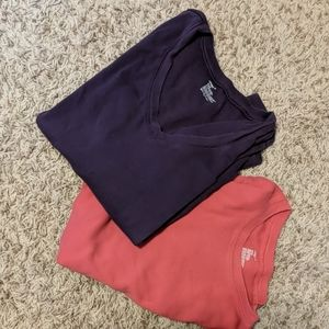 Two long-sleeved tops from Gap